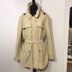 Vintage Tommy Hilfiger short trench coat